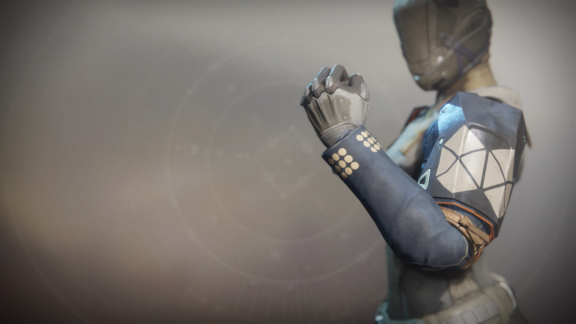 An in-game render of the Intrepid Exploit Gauntlets.