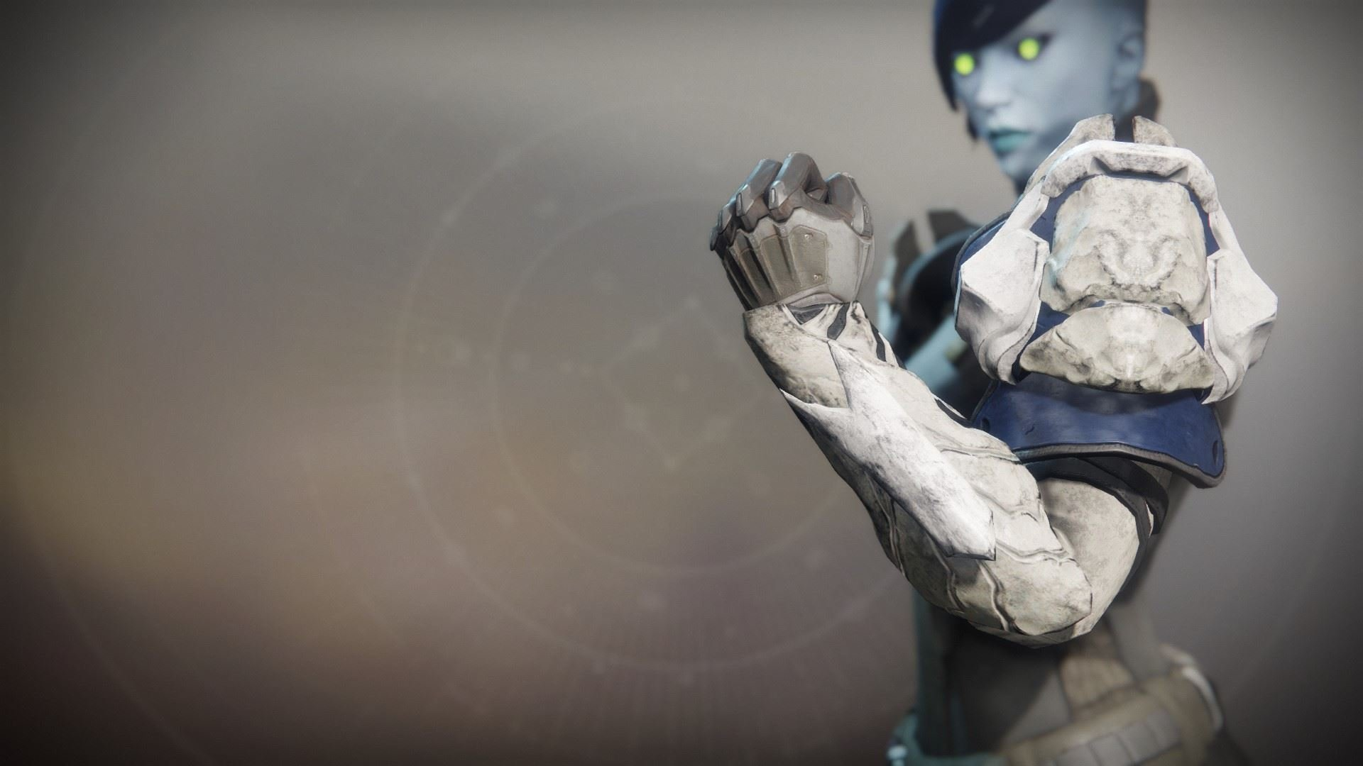 An in-game render of the Dragonfly Regalia Gauntlets.