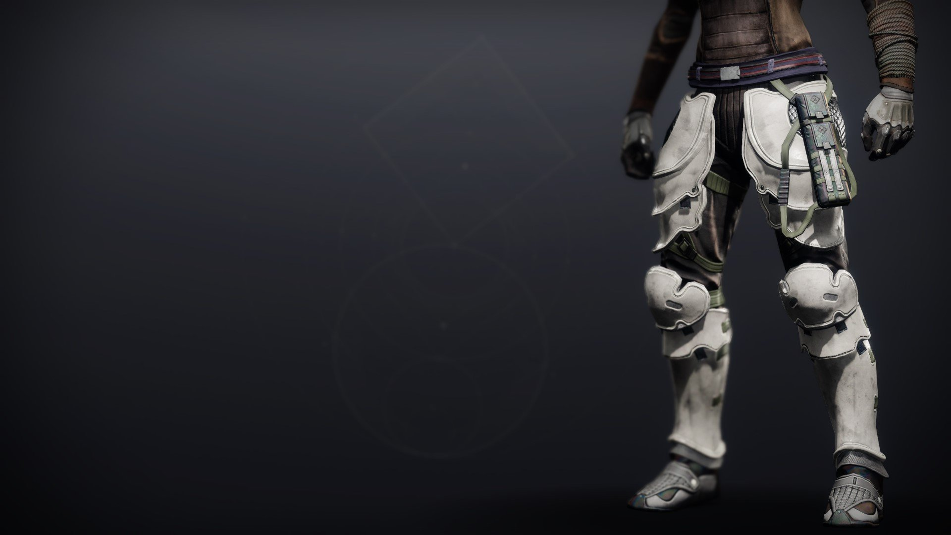 An in-game render of the Iron Will Boots.