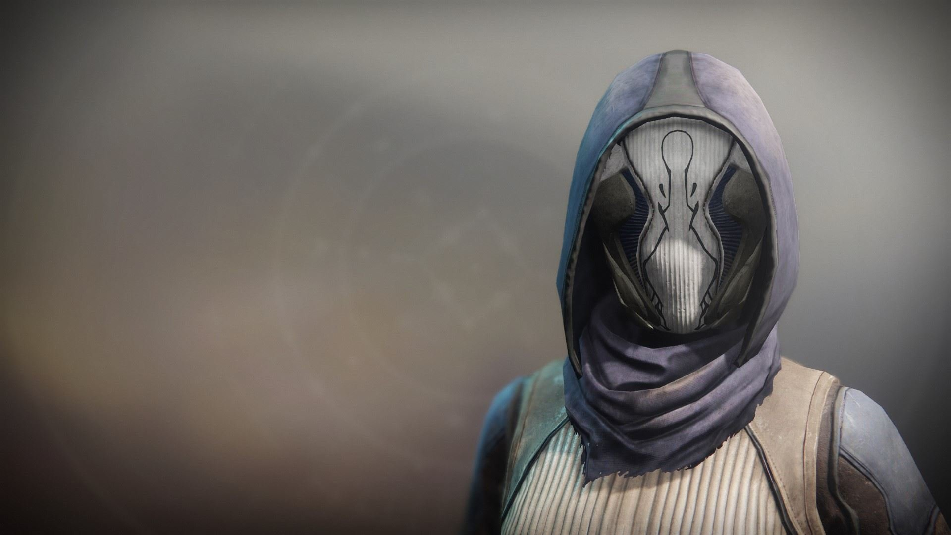 An in-game render of the Dragonfly Regalia Mask.