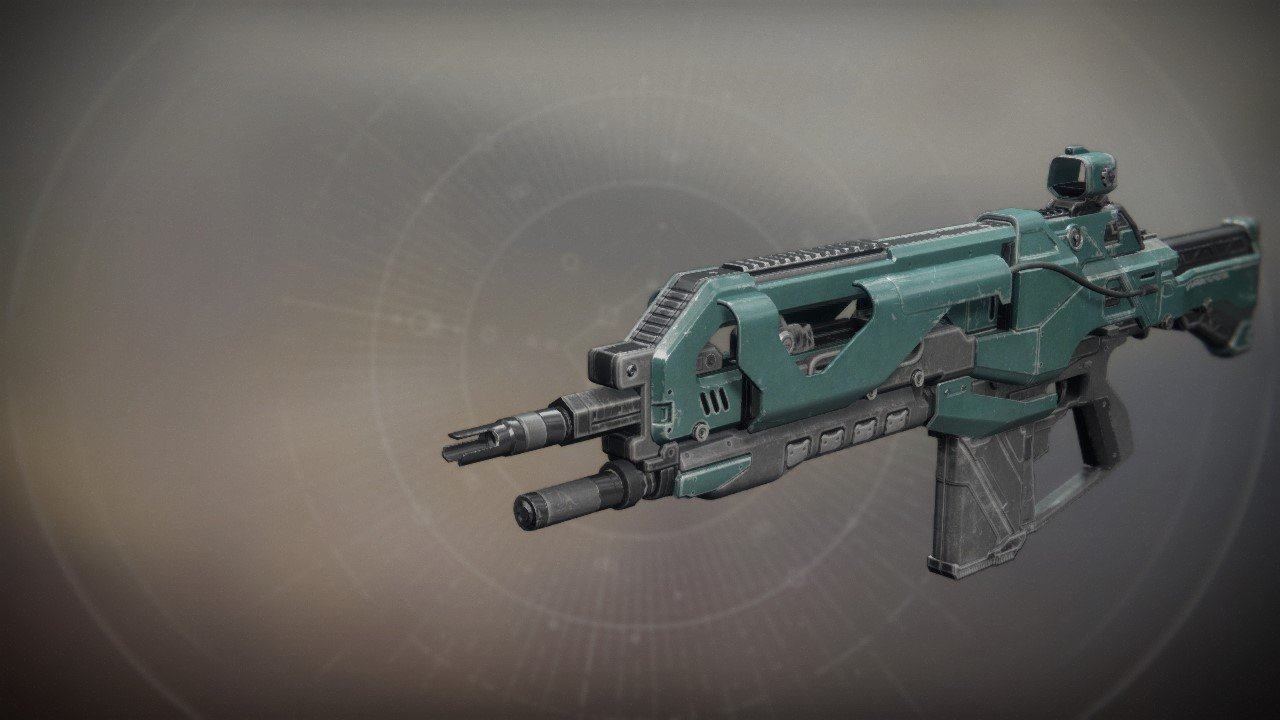 An in-game render of the SUROS Throwback.