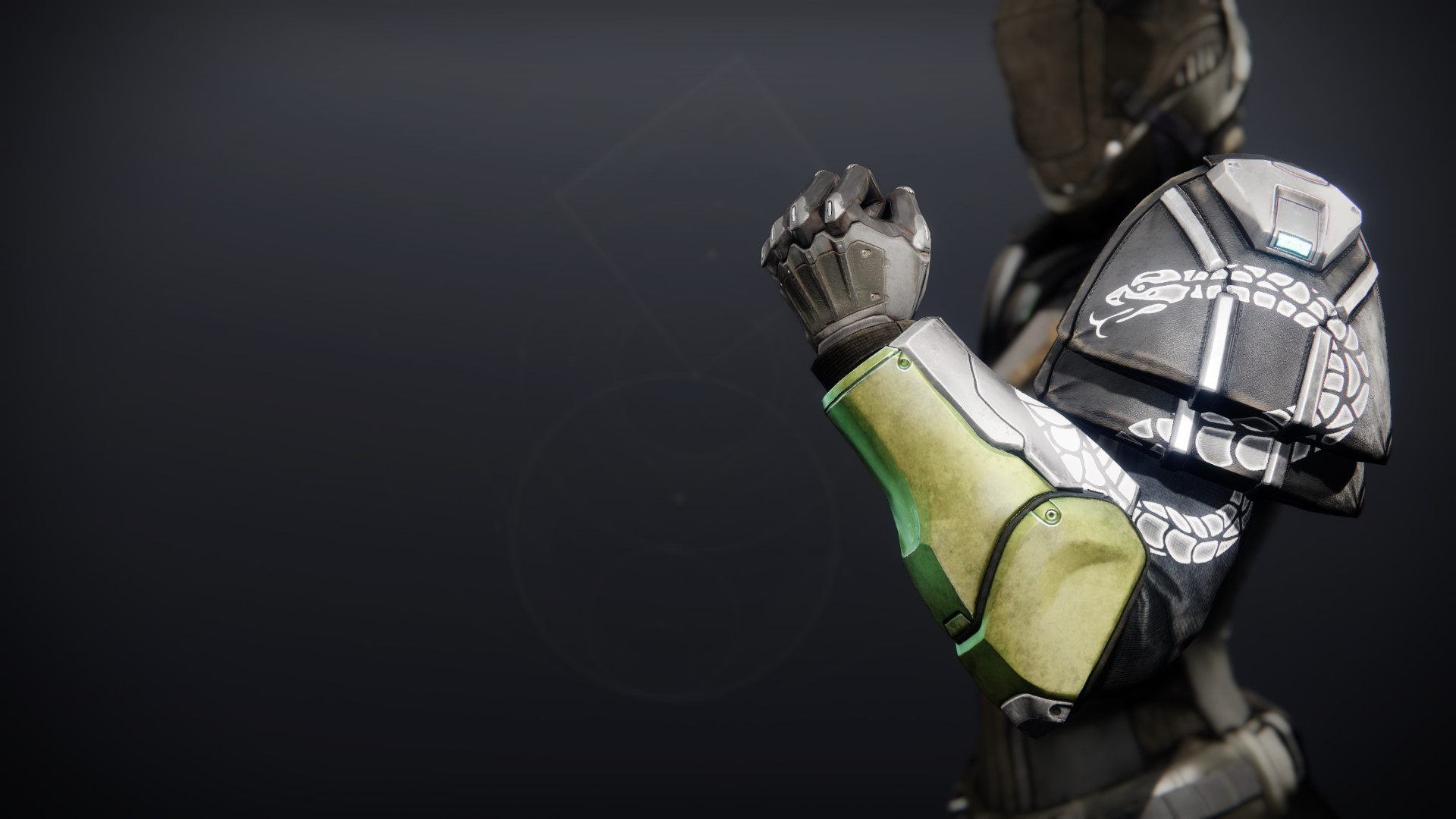 An in-game render of the Illicit Collector Gauntlets.