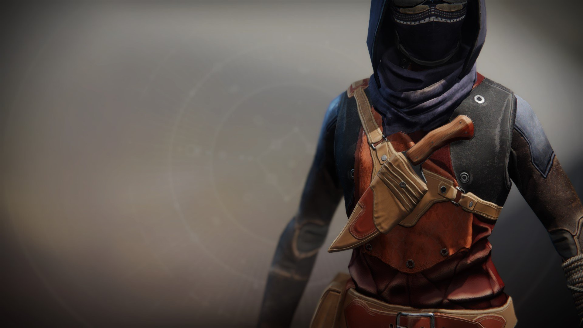 An in-game render of the Ancient Apocalypse Vest.