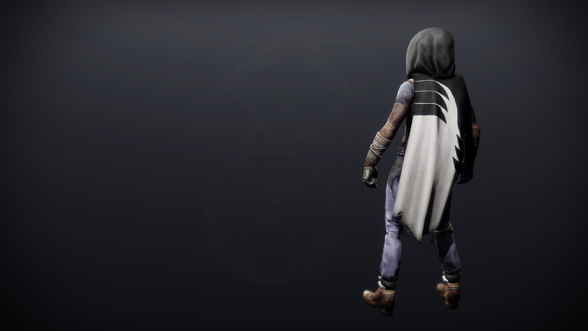 An in-game render of the Holeshot Cloak.