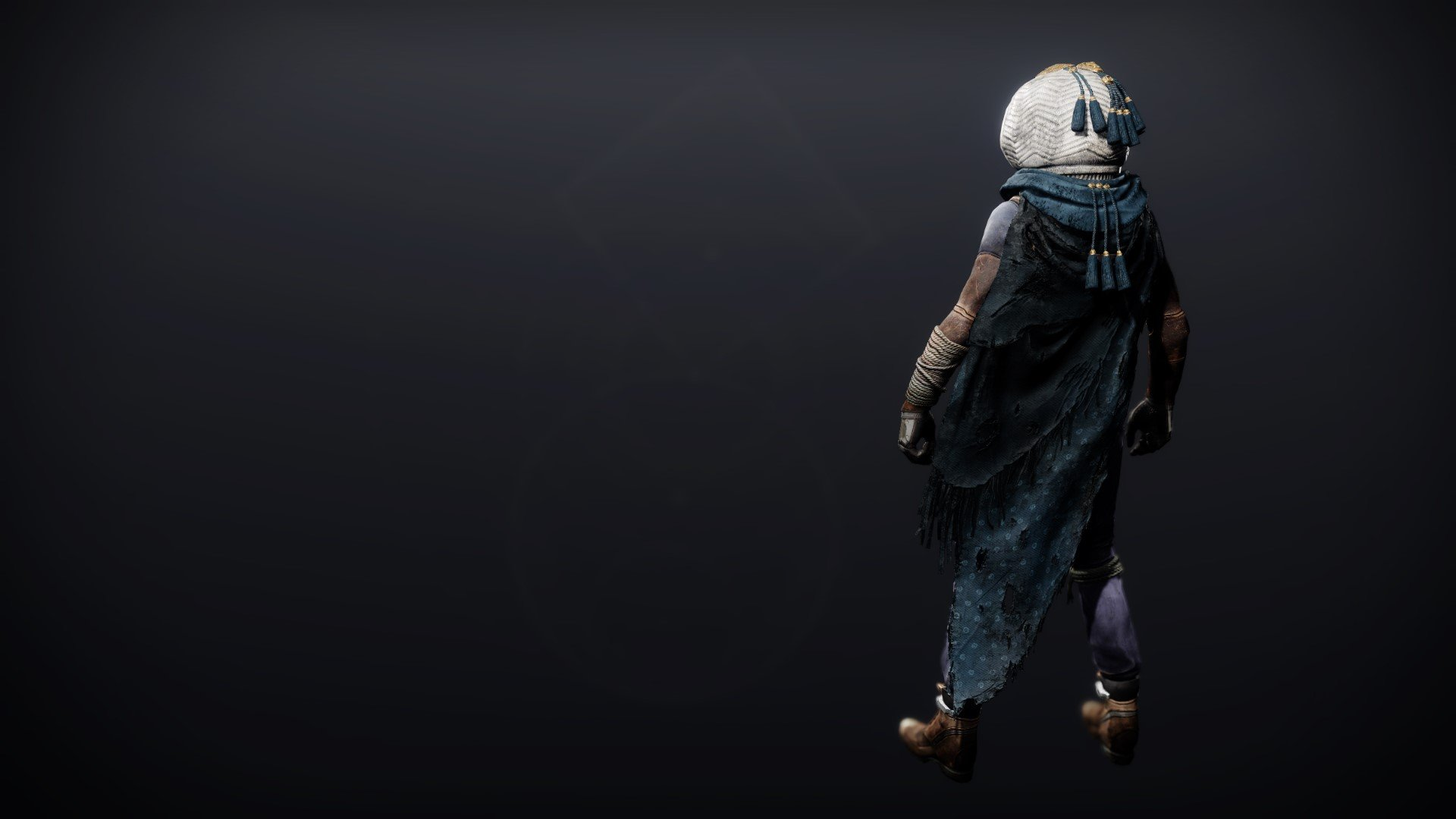 An in-game render of the Dreambane Cloak.