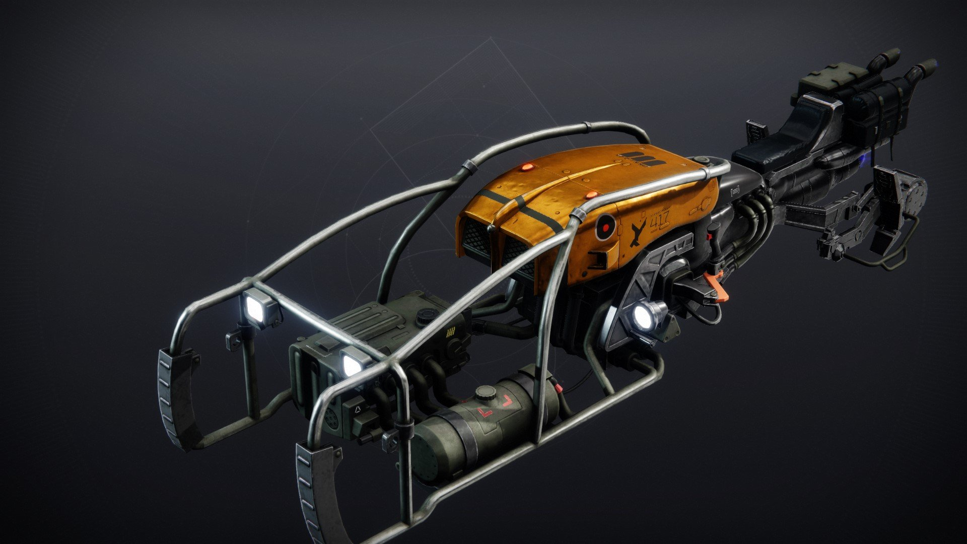 An in-game render of the Wanderer's Wagon.