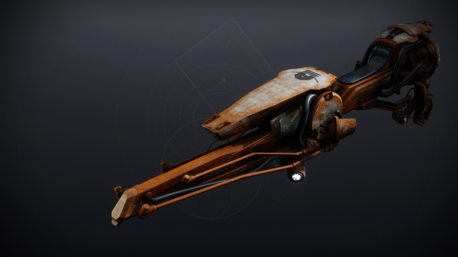 An in-game render of the Junkyard Steed.