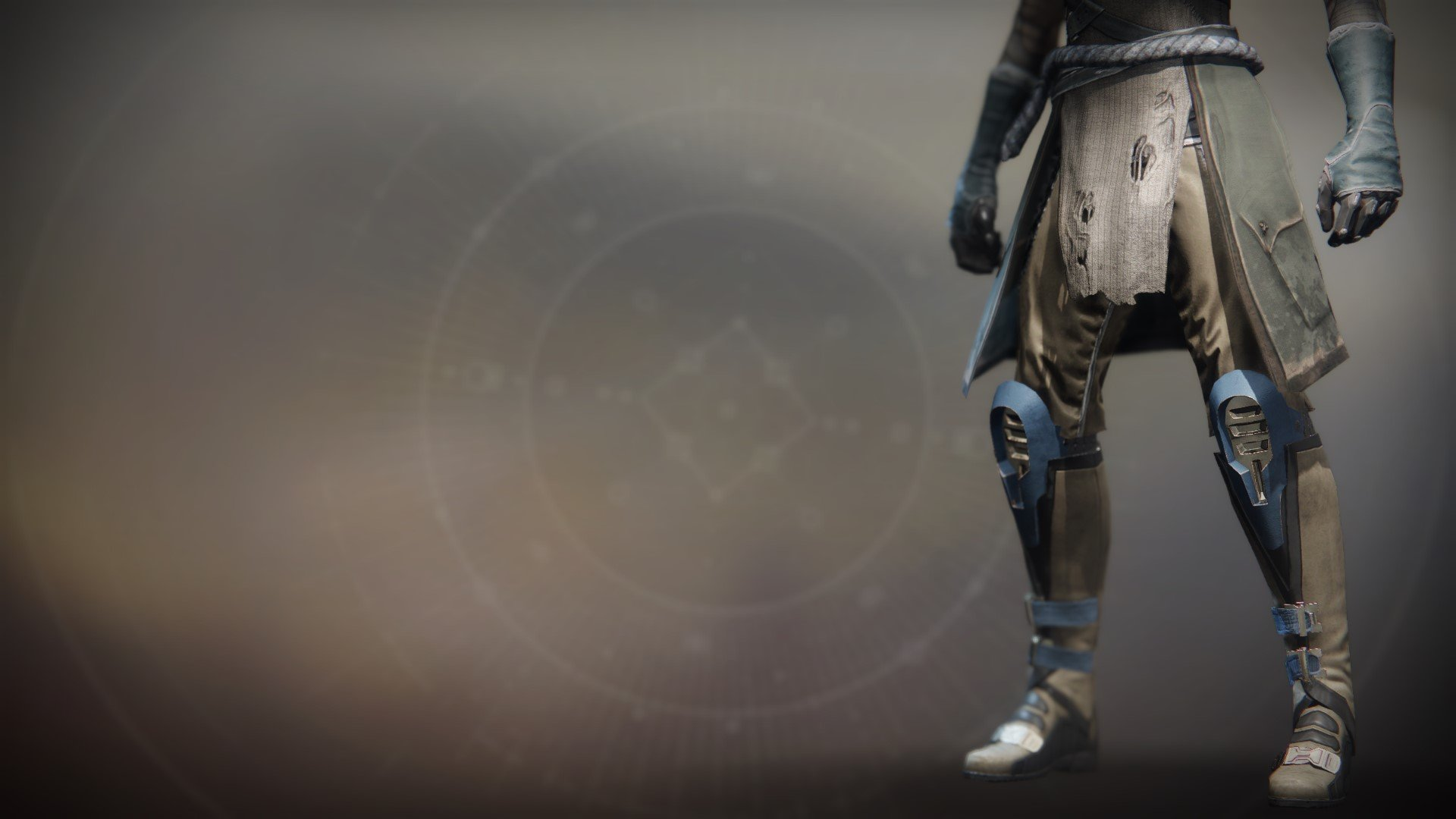 An in-game render of the BrayTech Researcher's Boots.