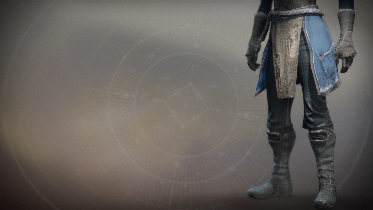 An in-game render of the Aspirant Boots.