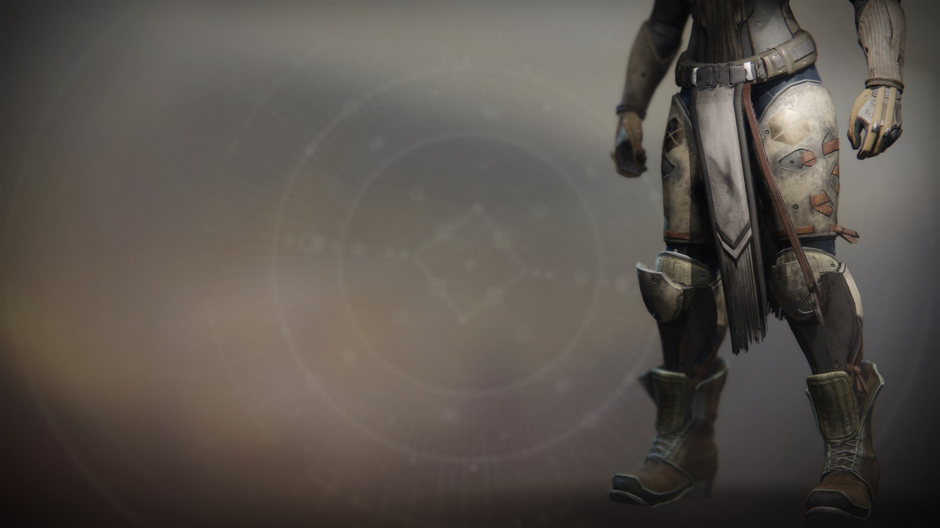 An in-game render of the Intrepid Exploit Greaves.