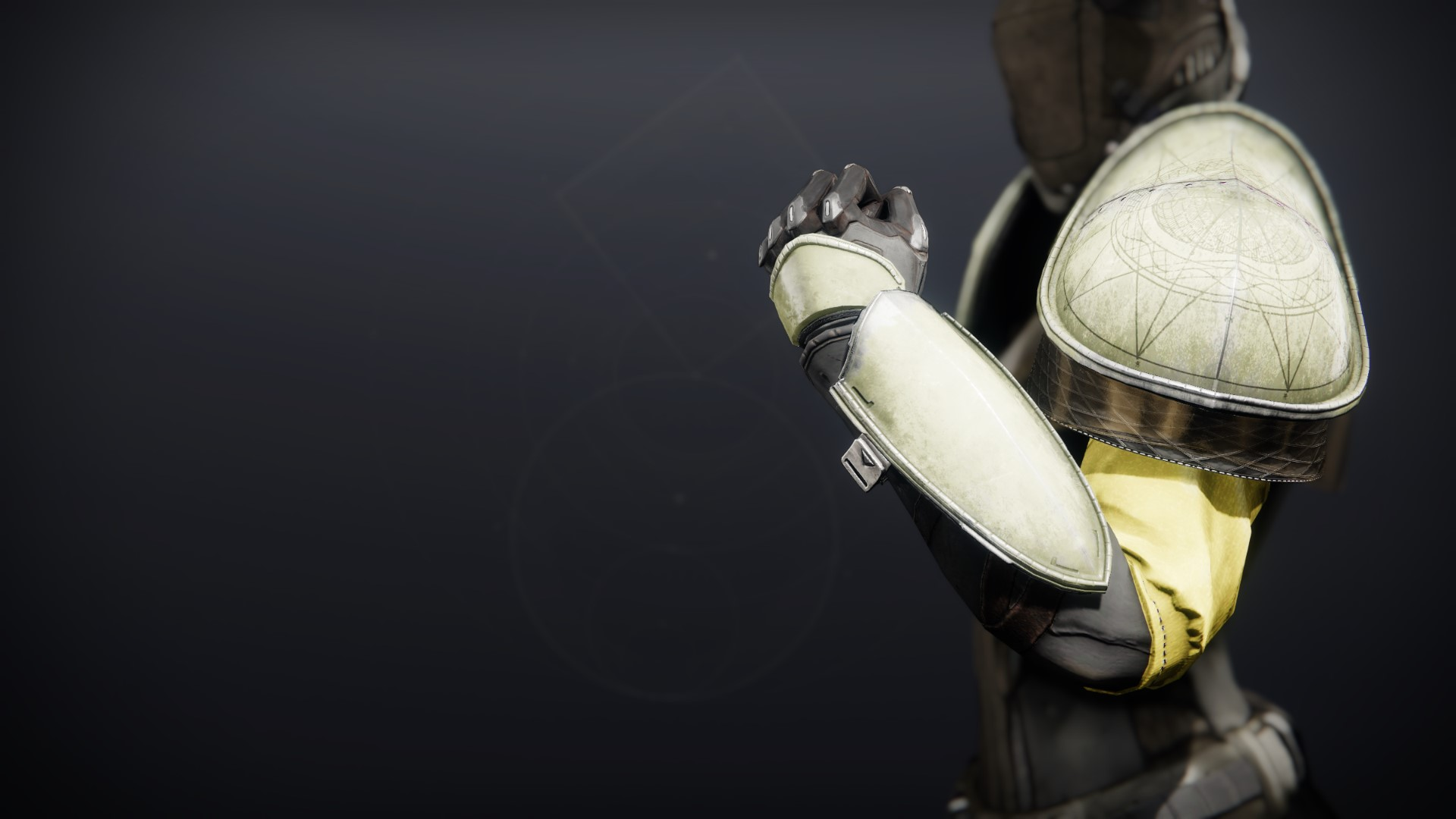 An in-game render of the Gensym Knight Gauntlets.