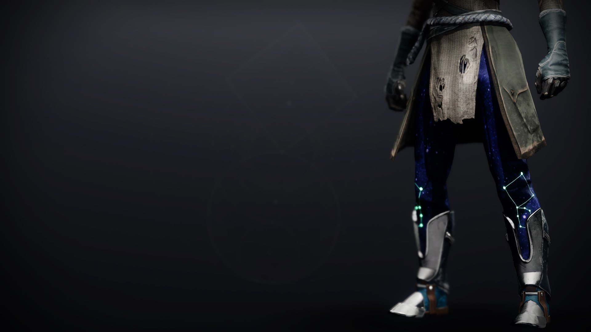 An in-game render of the Celestial Boots.
