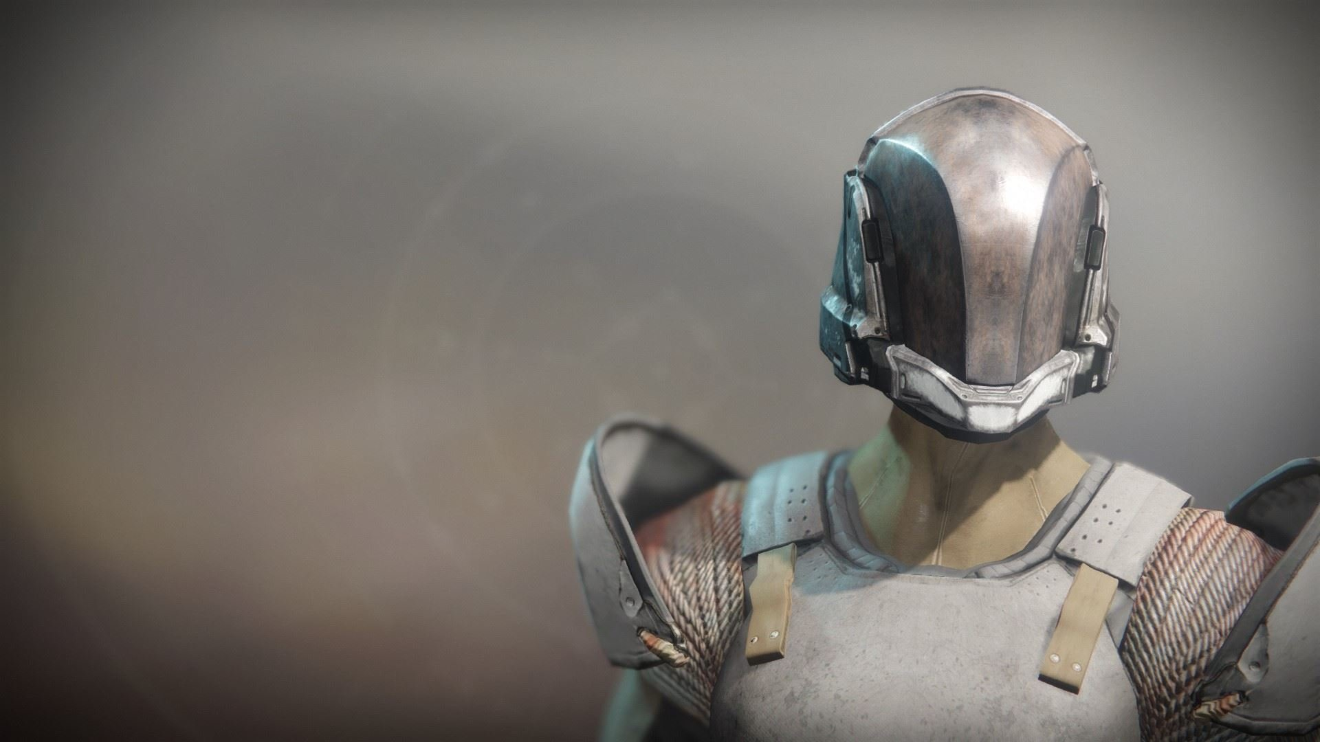 An in-game render of the Solstice Helm (Rekindled).