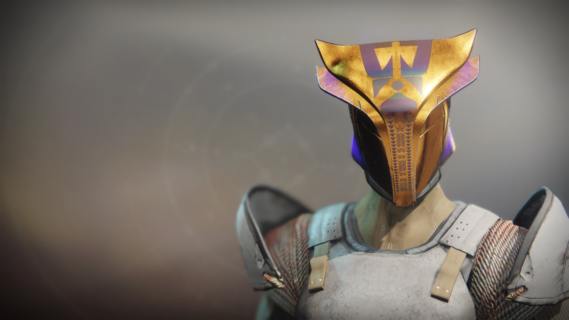An in-game render of the Helm of the Emperor's Champion.