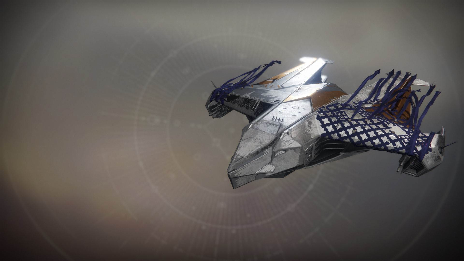 An in-game render of the Saint-14's Gray Pigeon.