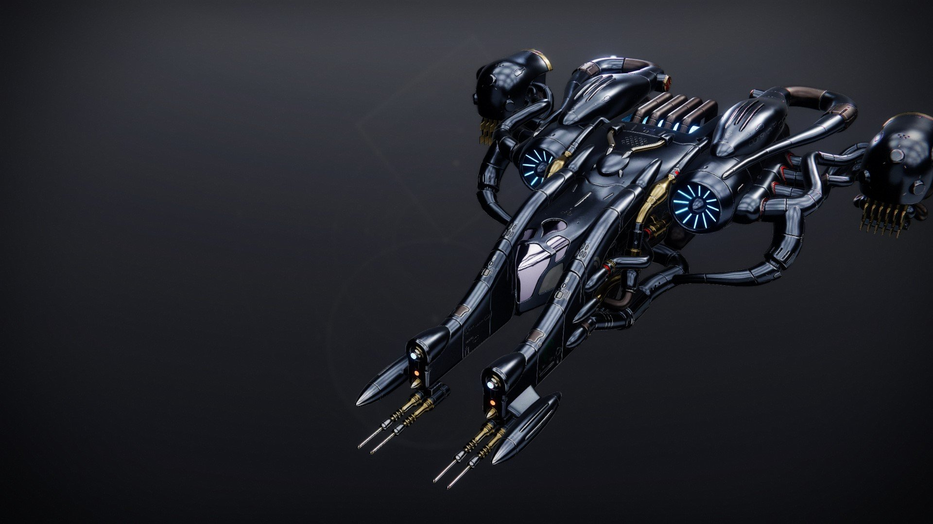 An in-game render of the Reefborn Warbird.