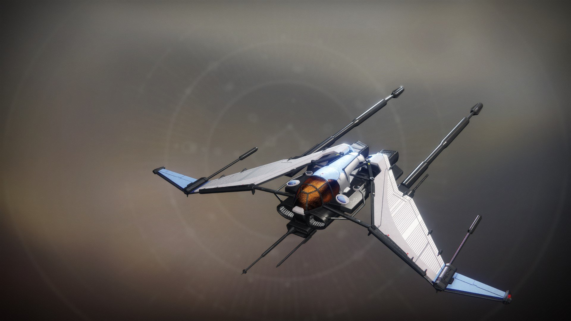 An in-game render of the Bayle's Aerodyne.