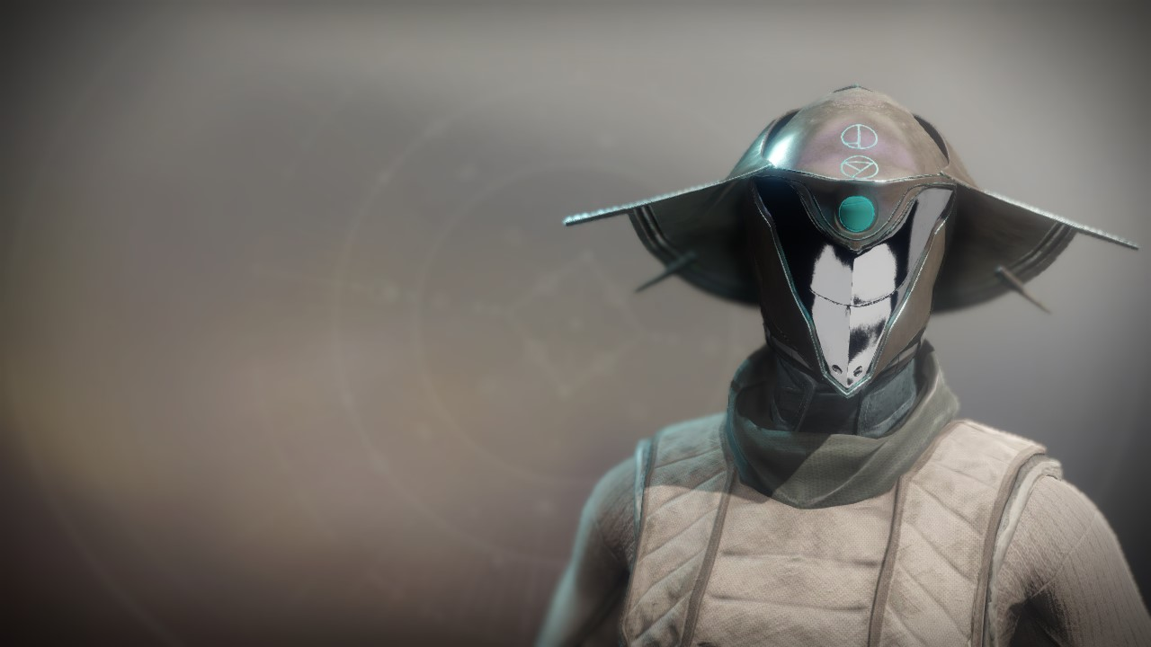 An in-game render of the Channeling Cowl.
