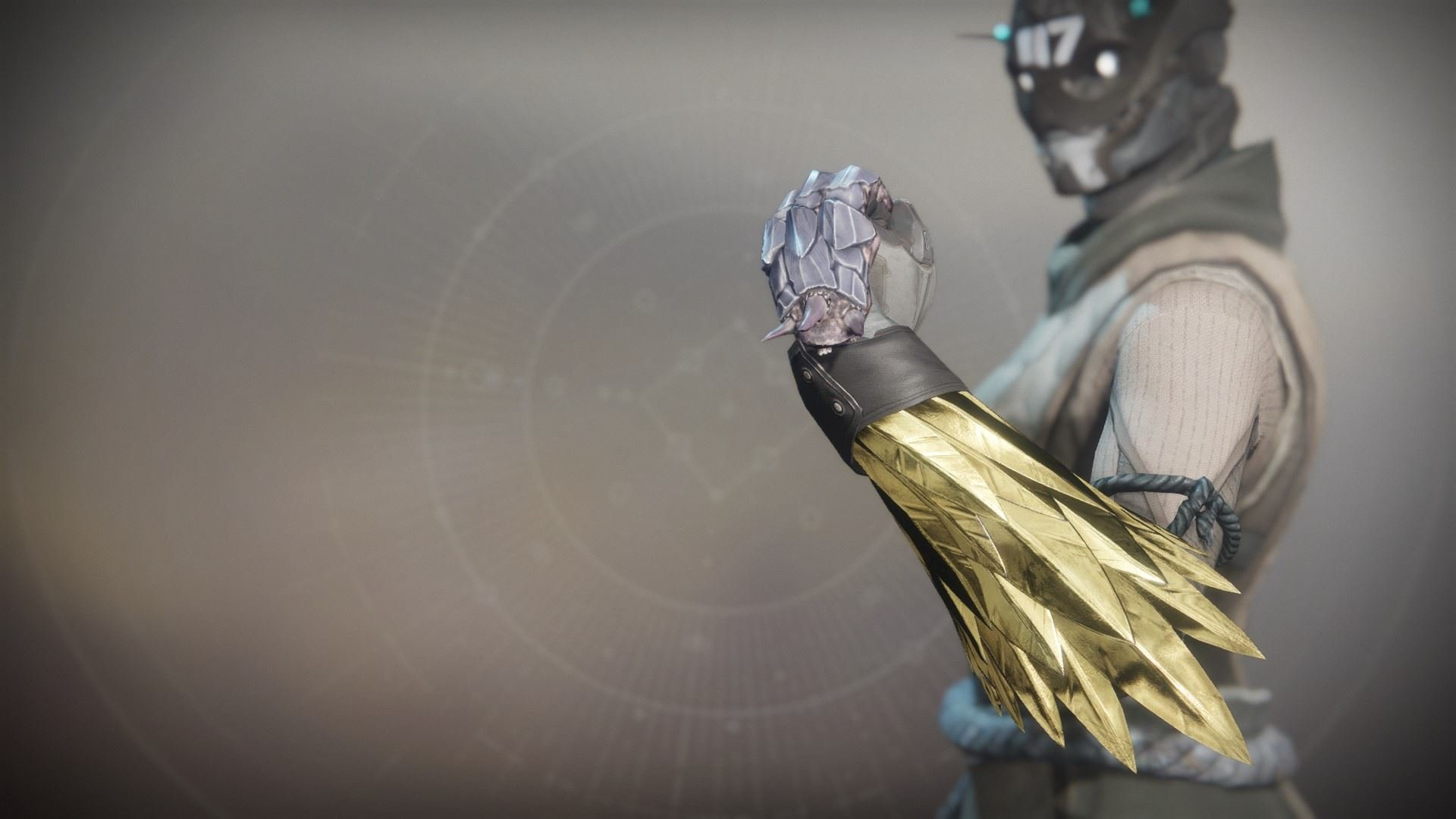 An in-game render of the Claws of Ahamkara.