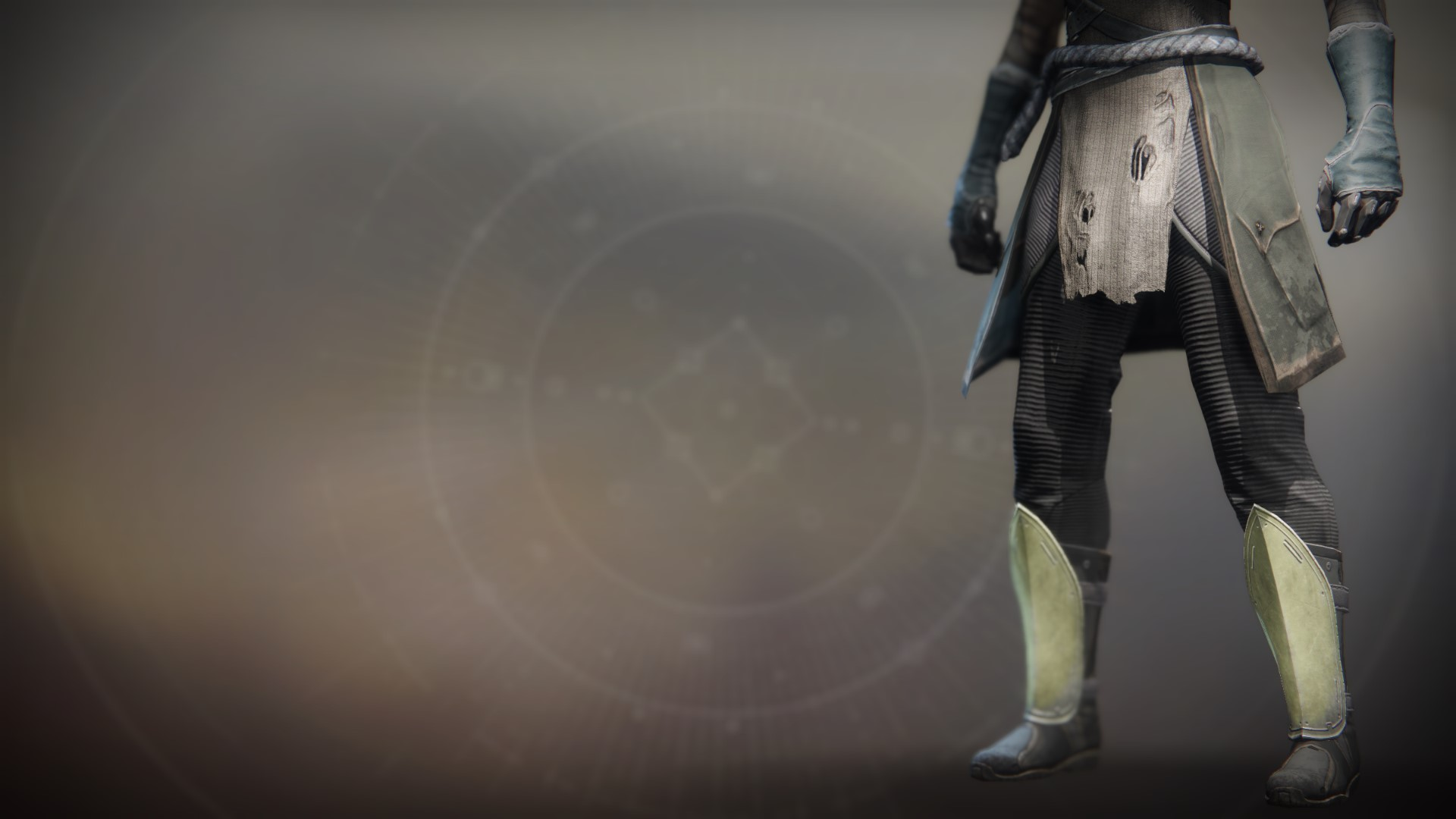 An in-game render of the Gensym Knight Boots.