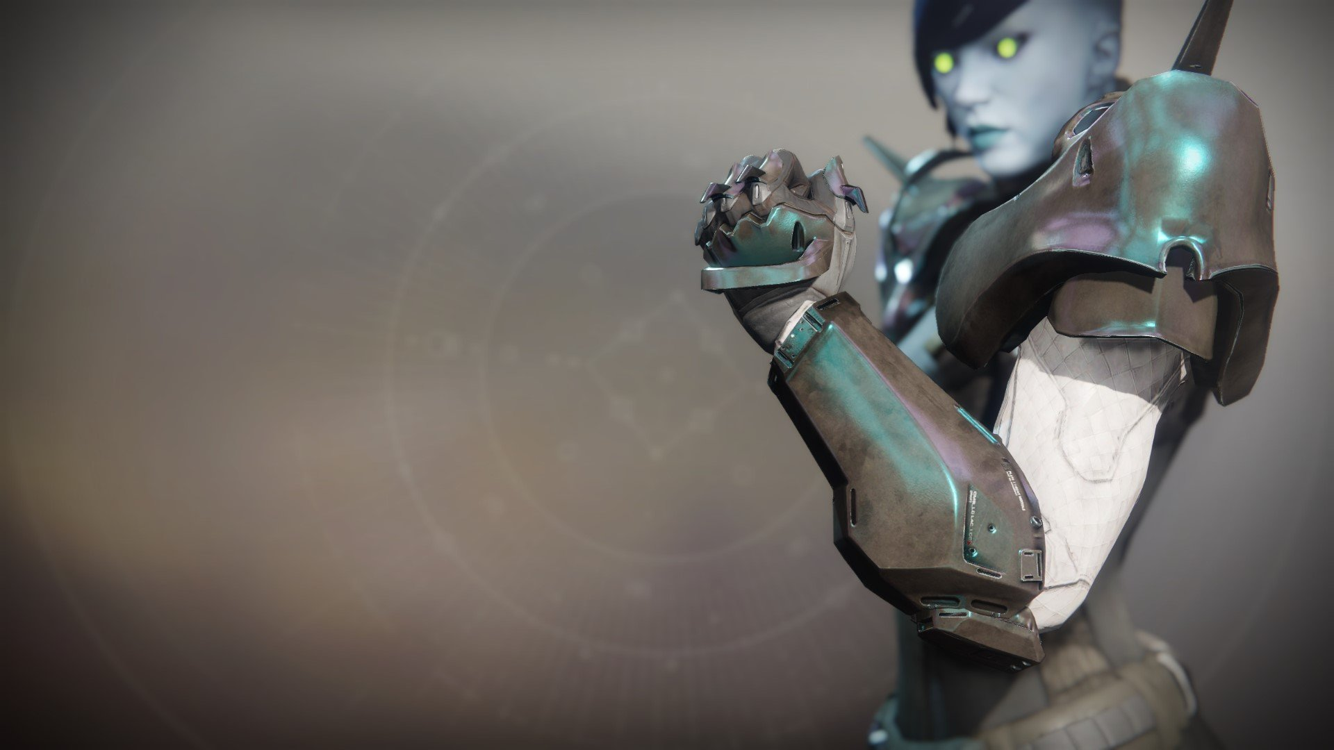An in-game render of the Crushing Guard.