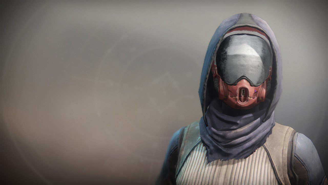 An in-game render of the Exodus Down Mask.