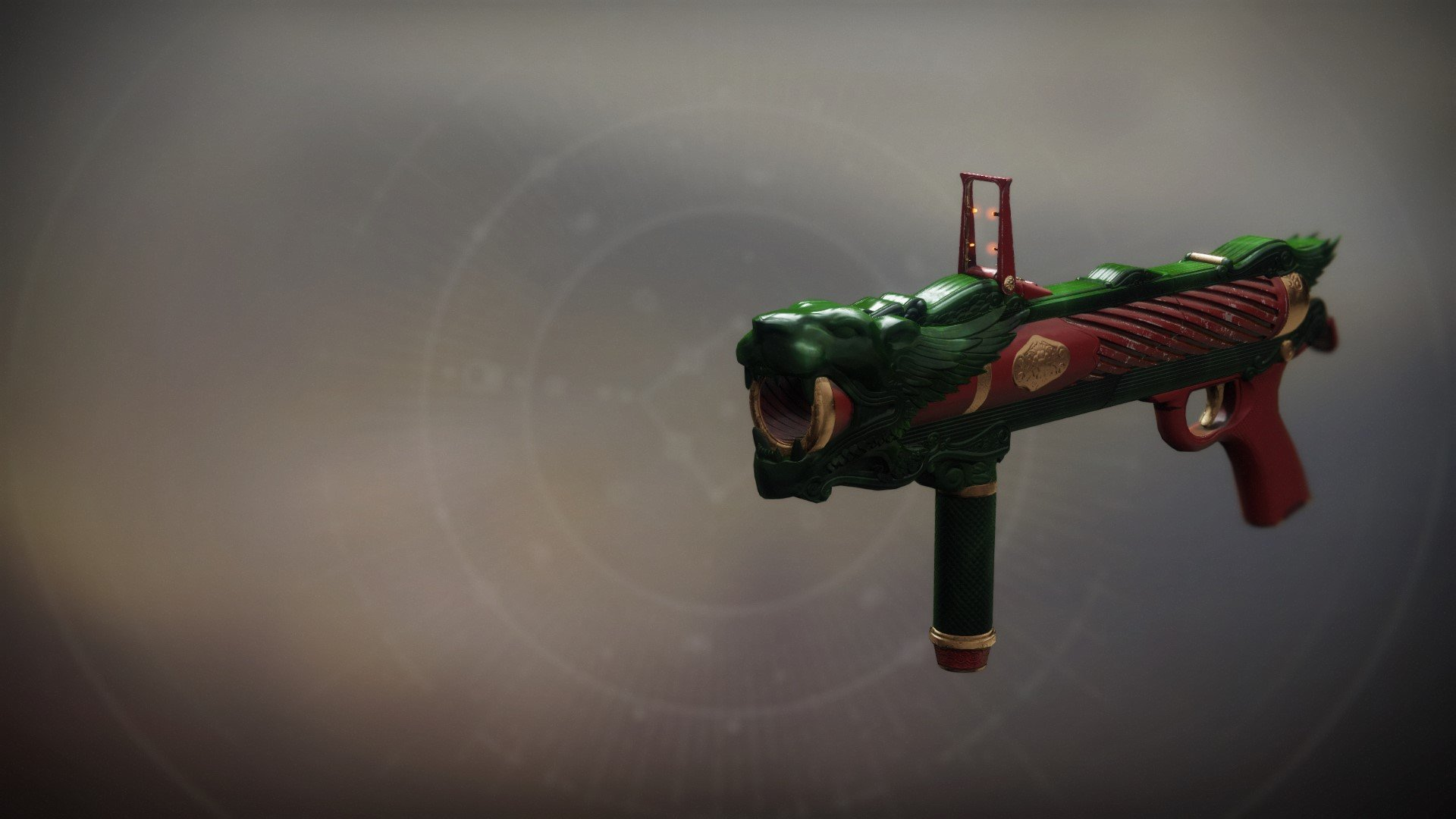 An in-game render of the Jade Countenance.