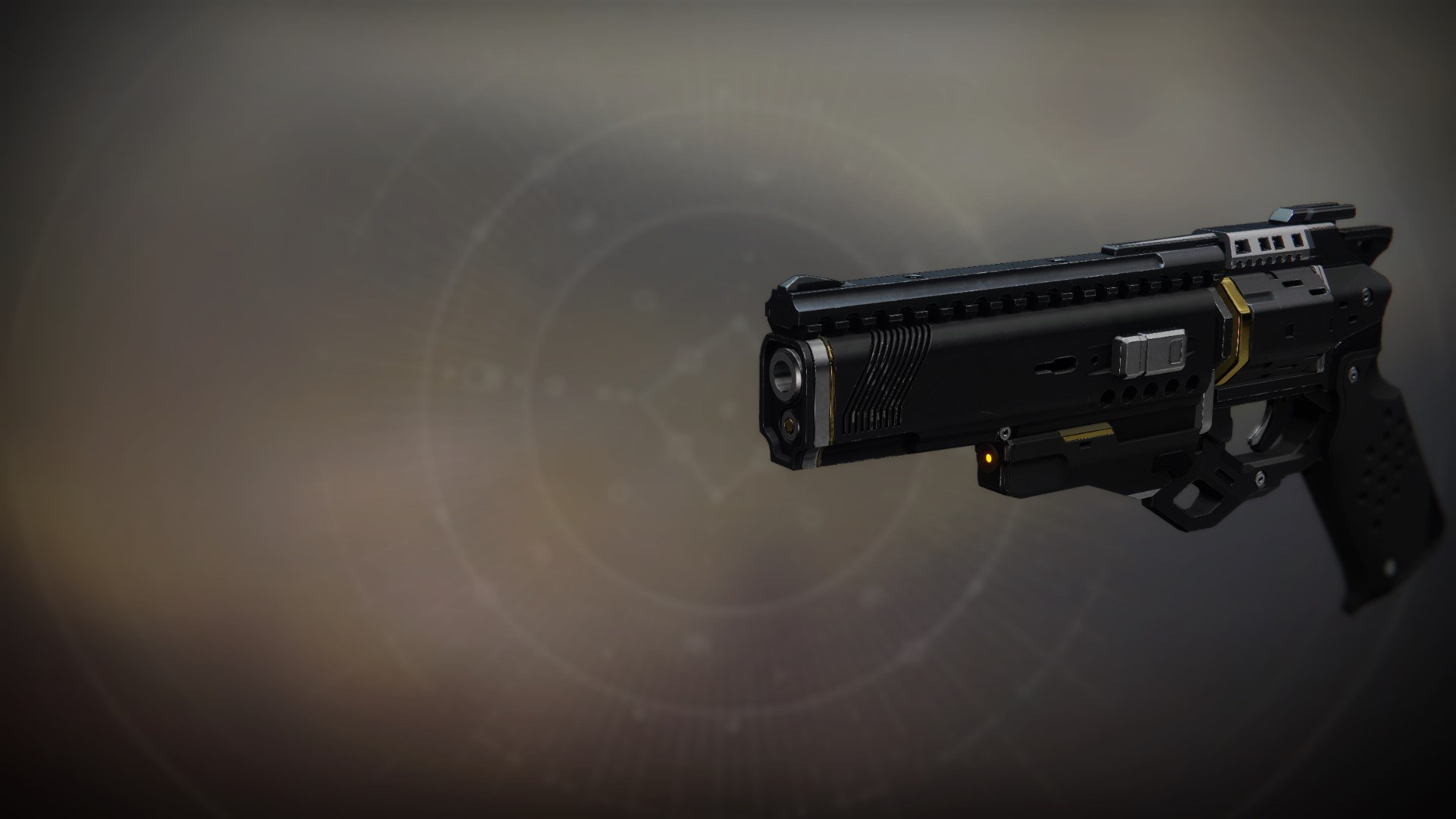 An in-game render of the Seventh Seraph Officer Revolver.