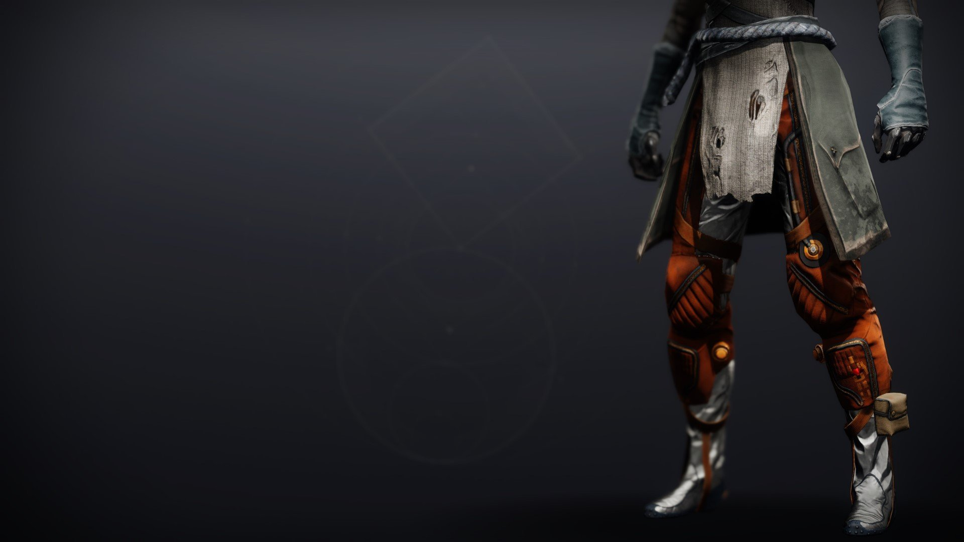 An in-game render of the Boots of the Assembler.