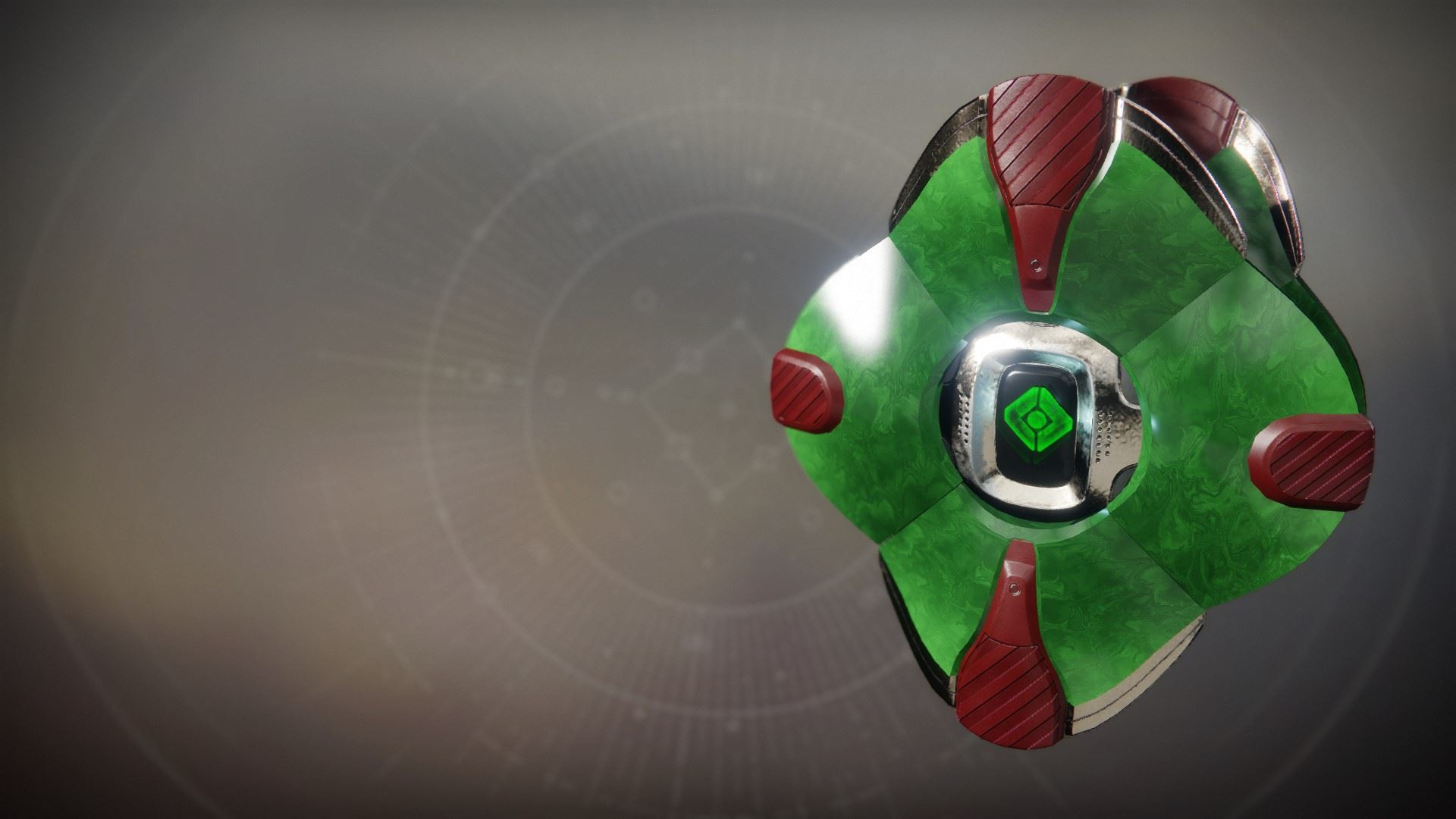 An in-game render of the Bursting Wisdom Shell.