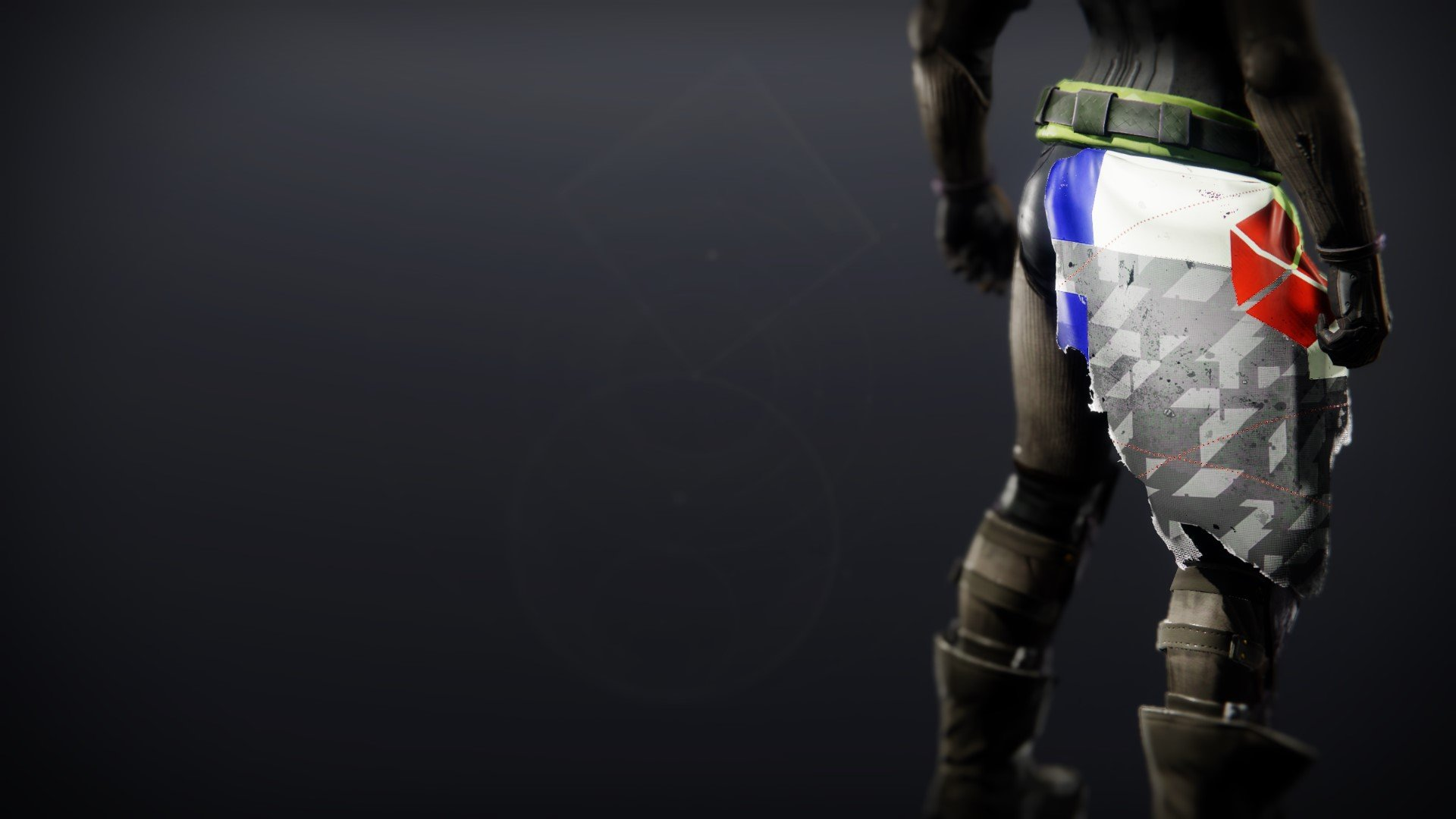 An in-game render of the Be Thy Champion.