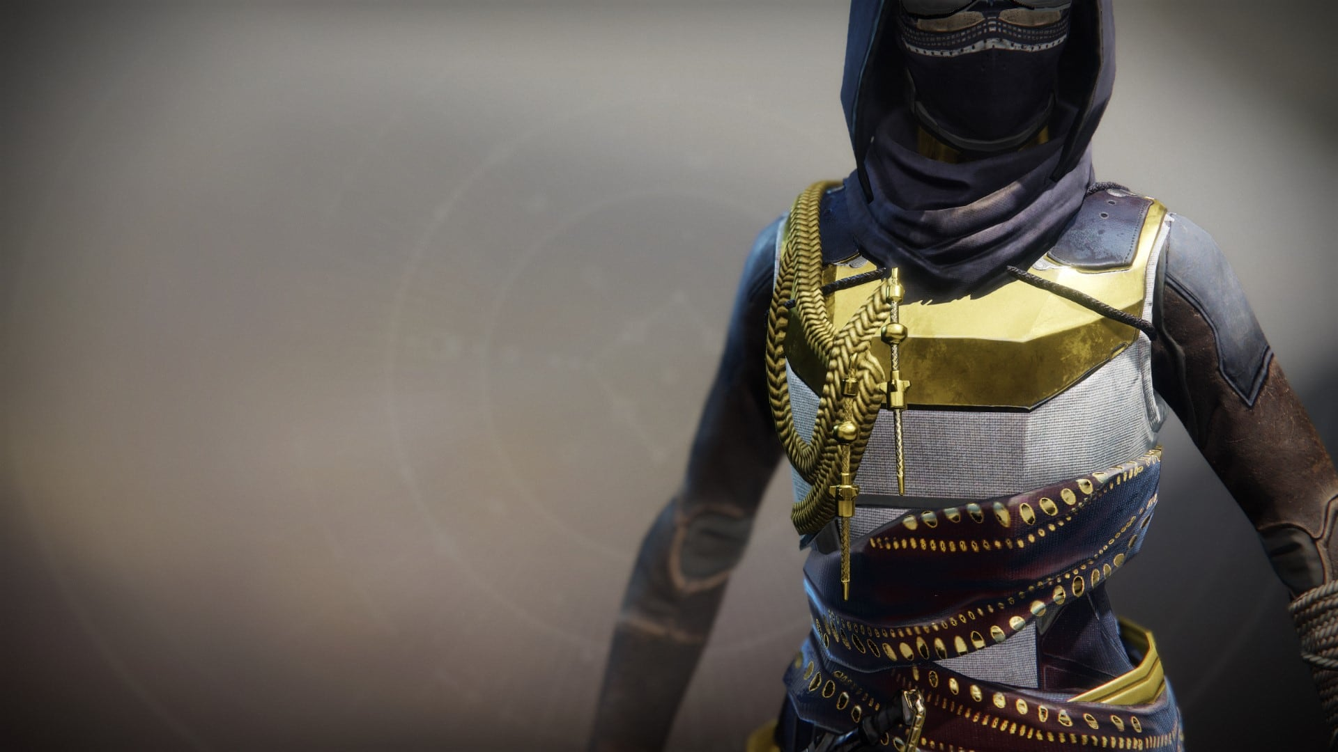 An in-game render of the Solstice Vest (Majestic).