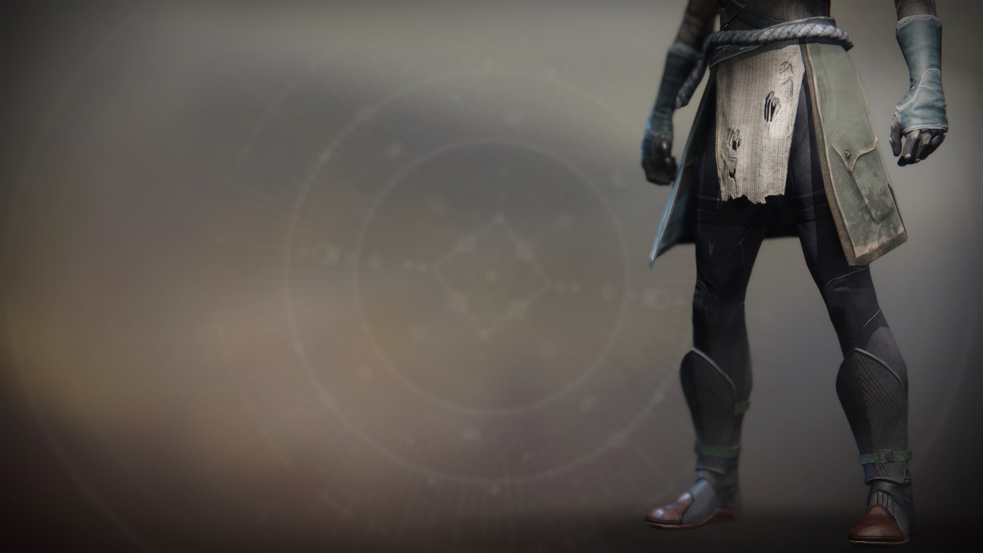 An in-game render of the Iron Fellowship Boots.