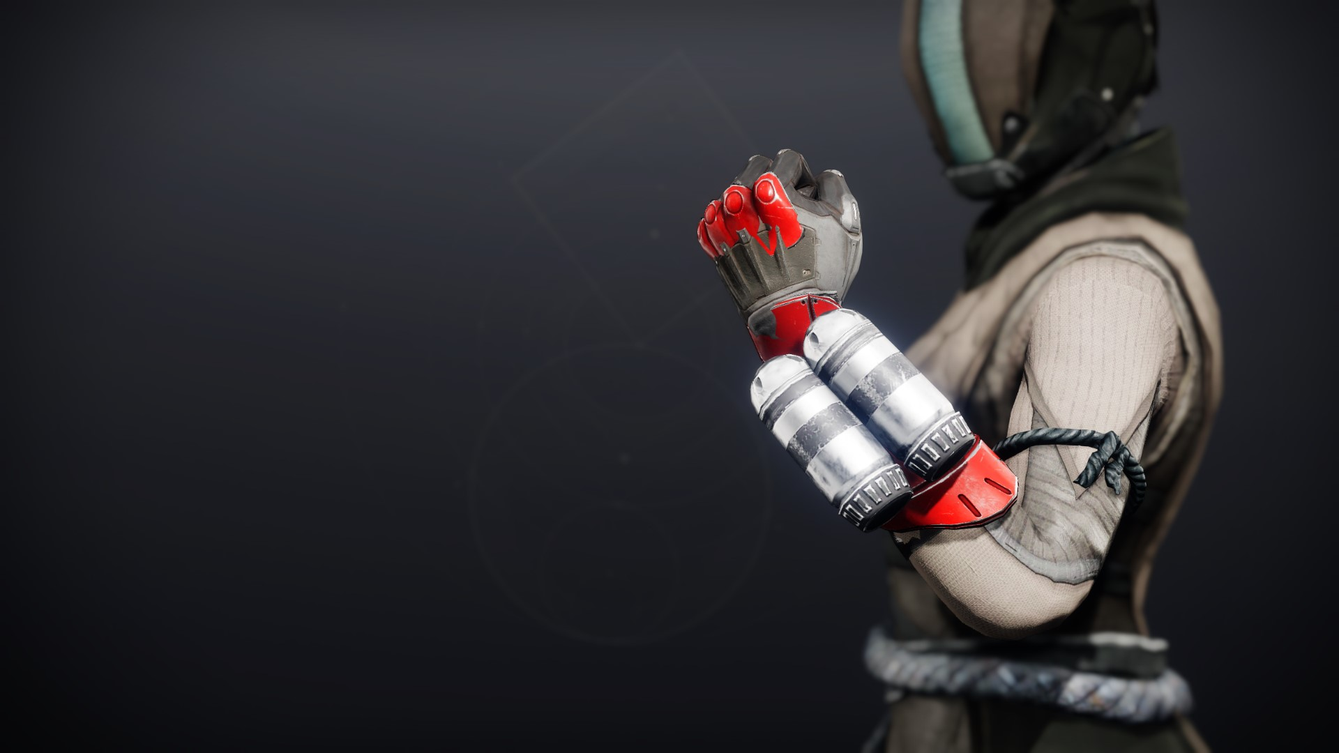 An in-game render of the Cinder Pinion Gloves.