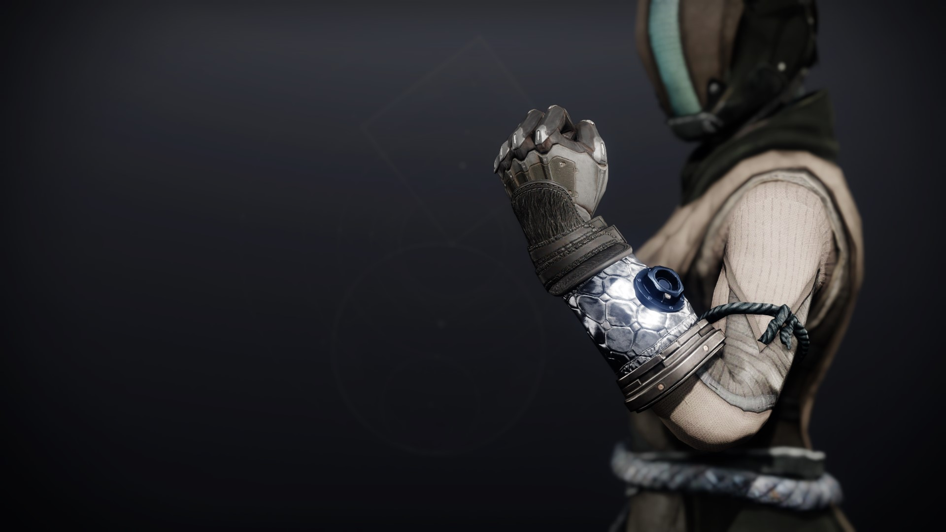 An in-game render of the Dreambane Gloves.
