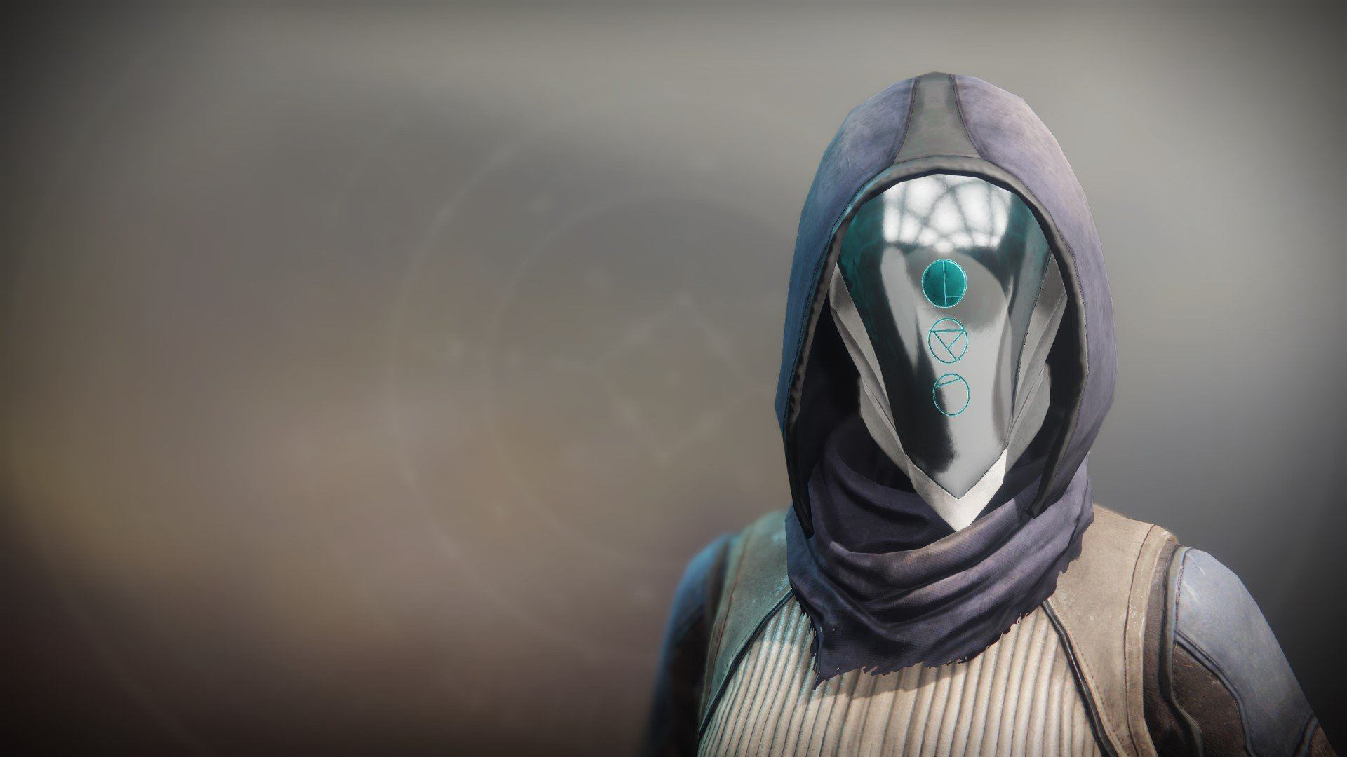 An in-game render of the Floating Cowl.