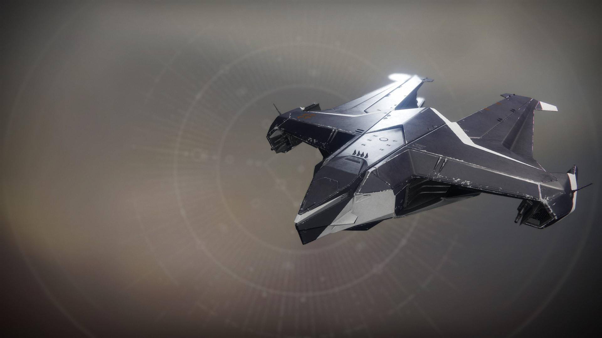 An in-game render of the Winter Blade.