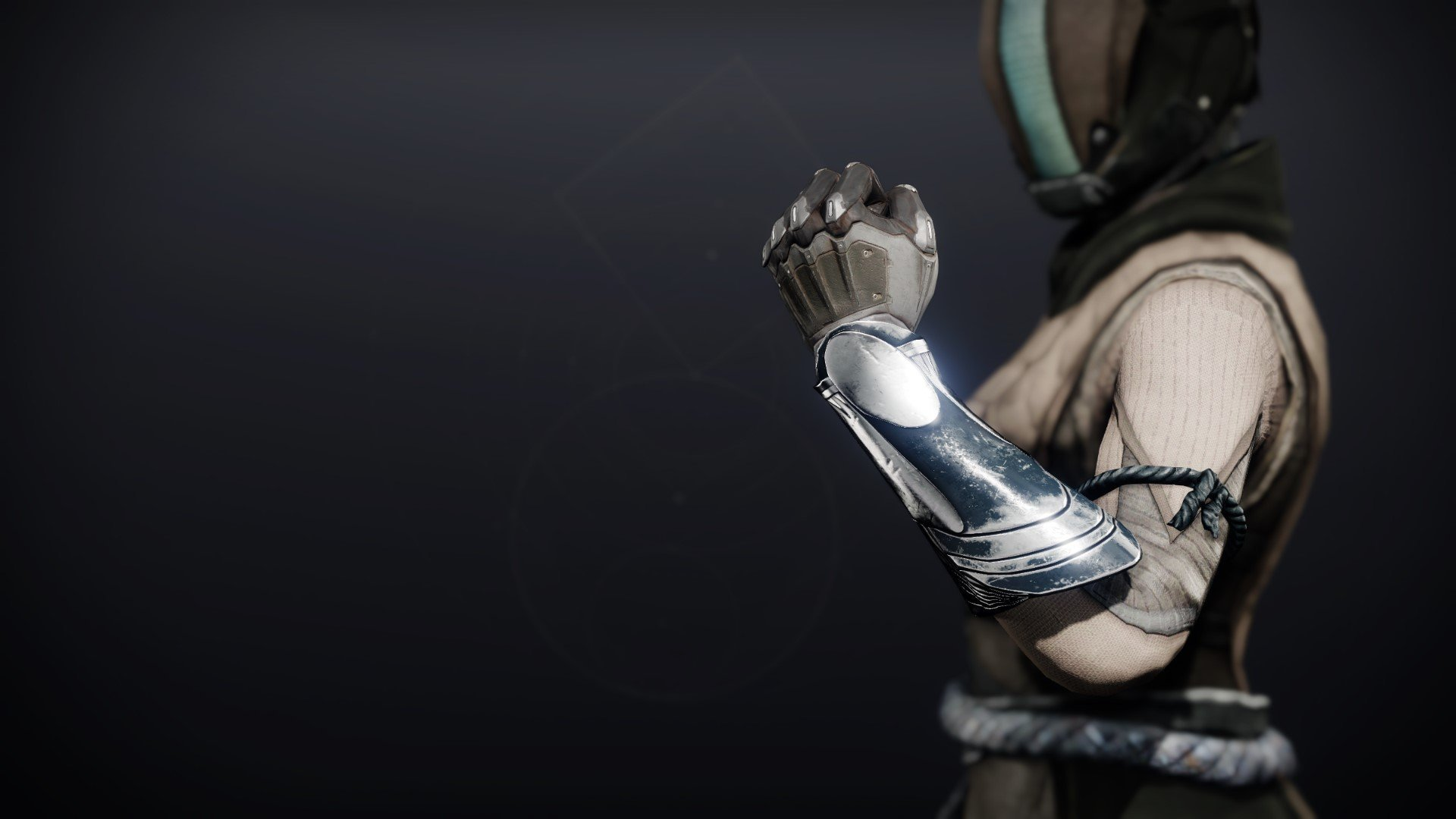 An in-game render of the Celestial Gloves.