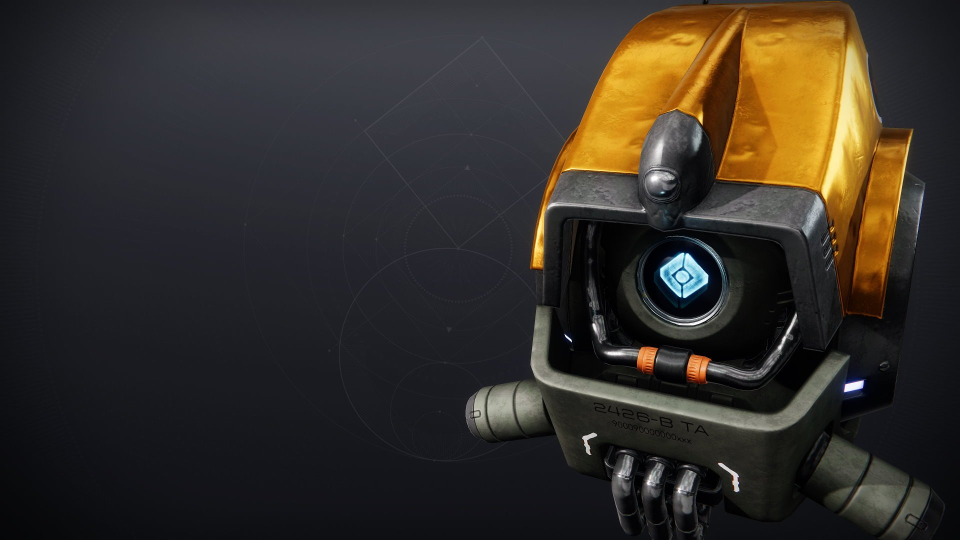 An in-game render of the Wanderer's Shell.