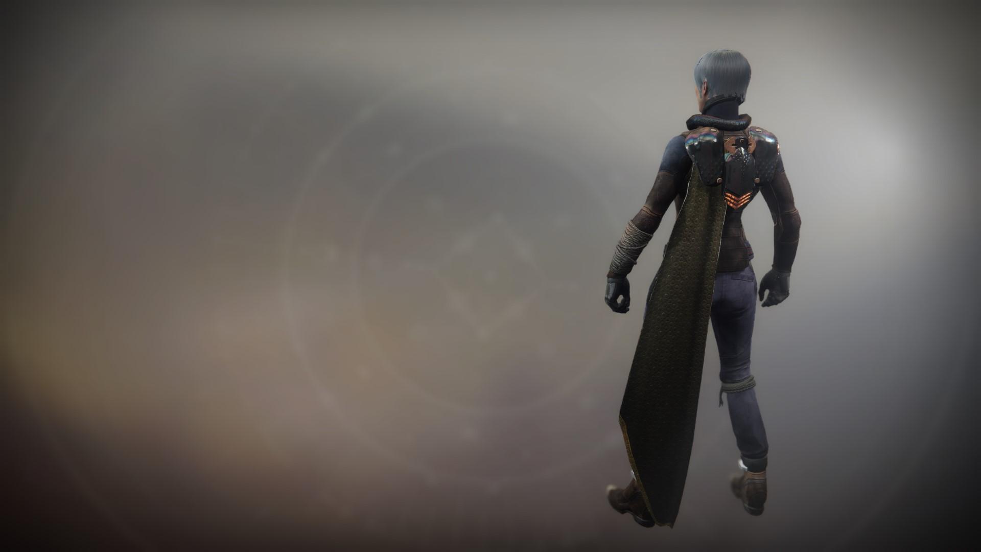 An in-game render of the Cloak of Feltroc.