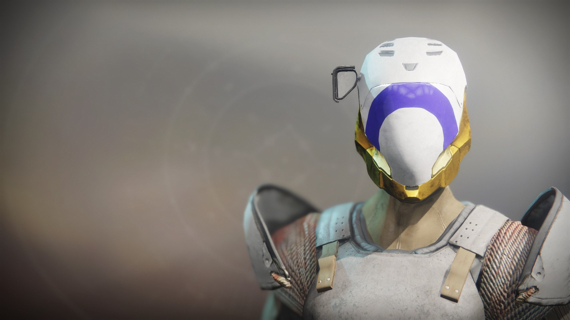 An in-game render of the Superior's Vision Helm.