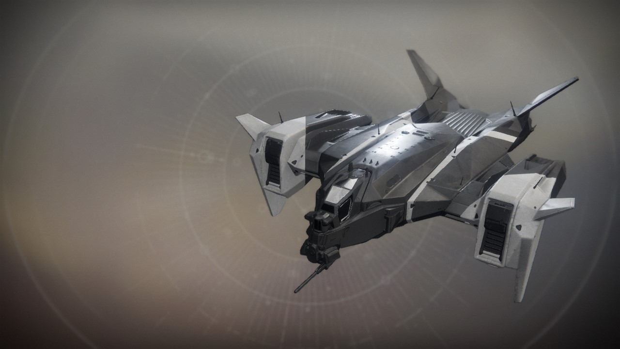 An in-game render of the Space-Age Lancelot.