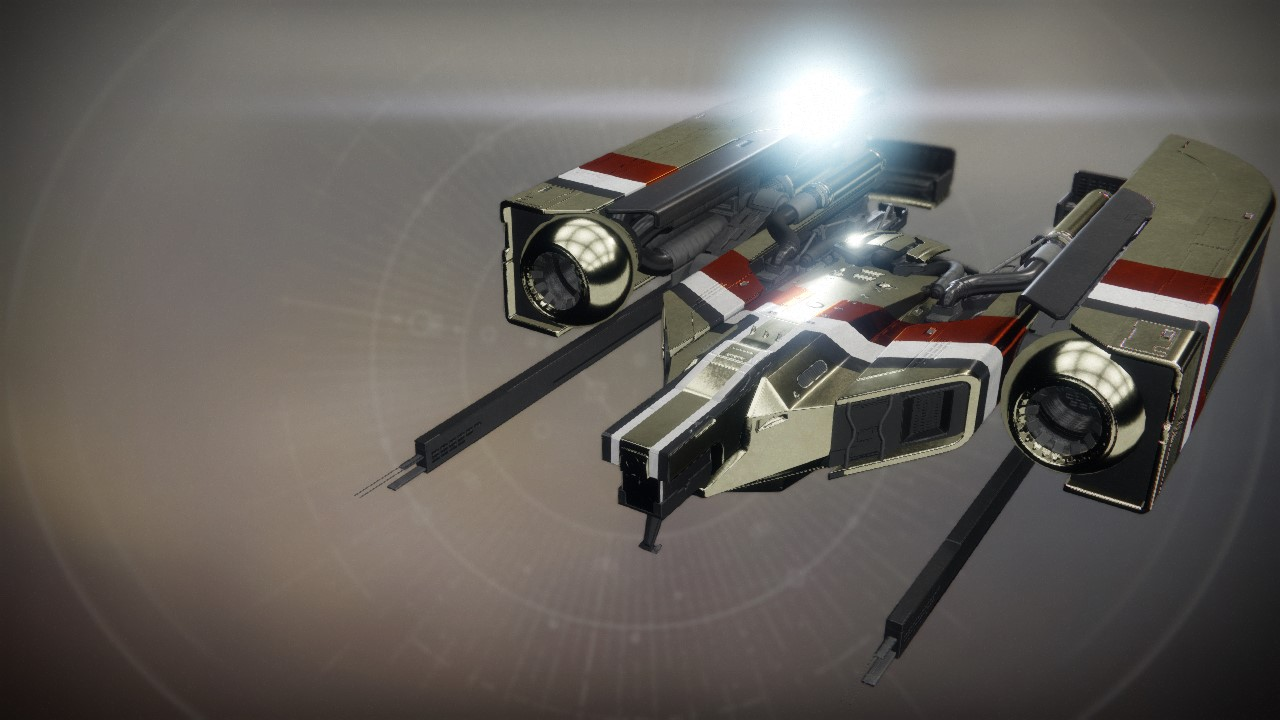 An in-game render of the Spectral Gain.