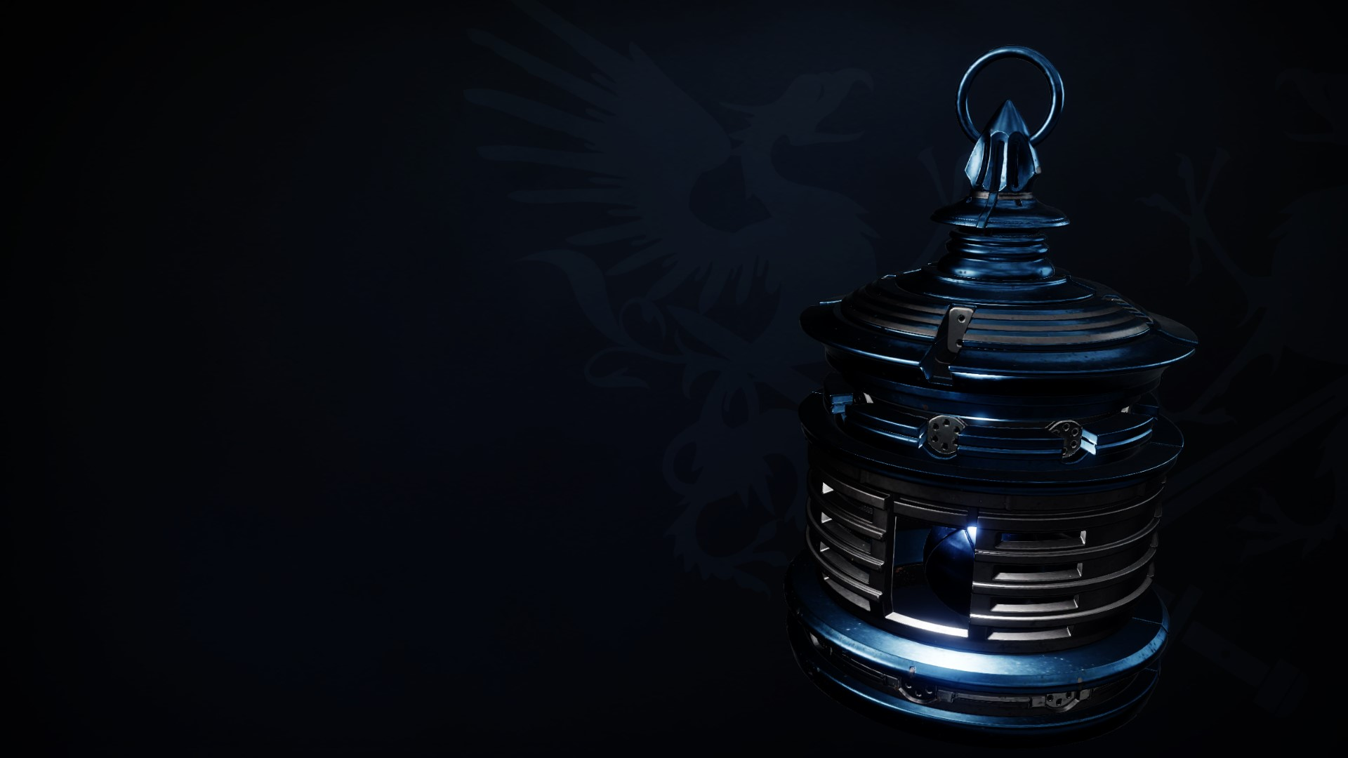 An in-game render of the Bell of Conquests.