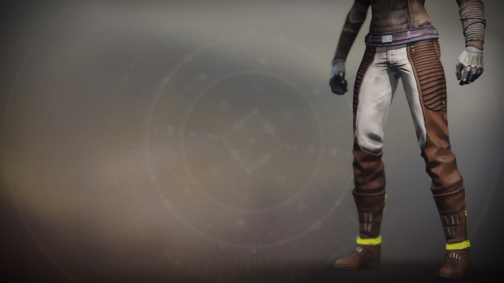 An in-game render of the Icarus Drifter Legs.
