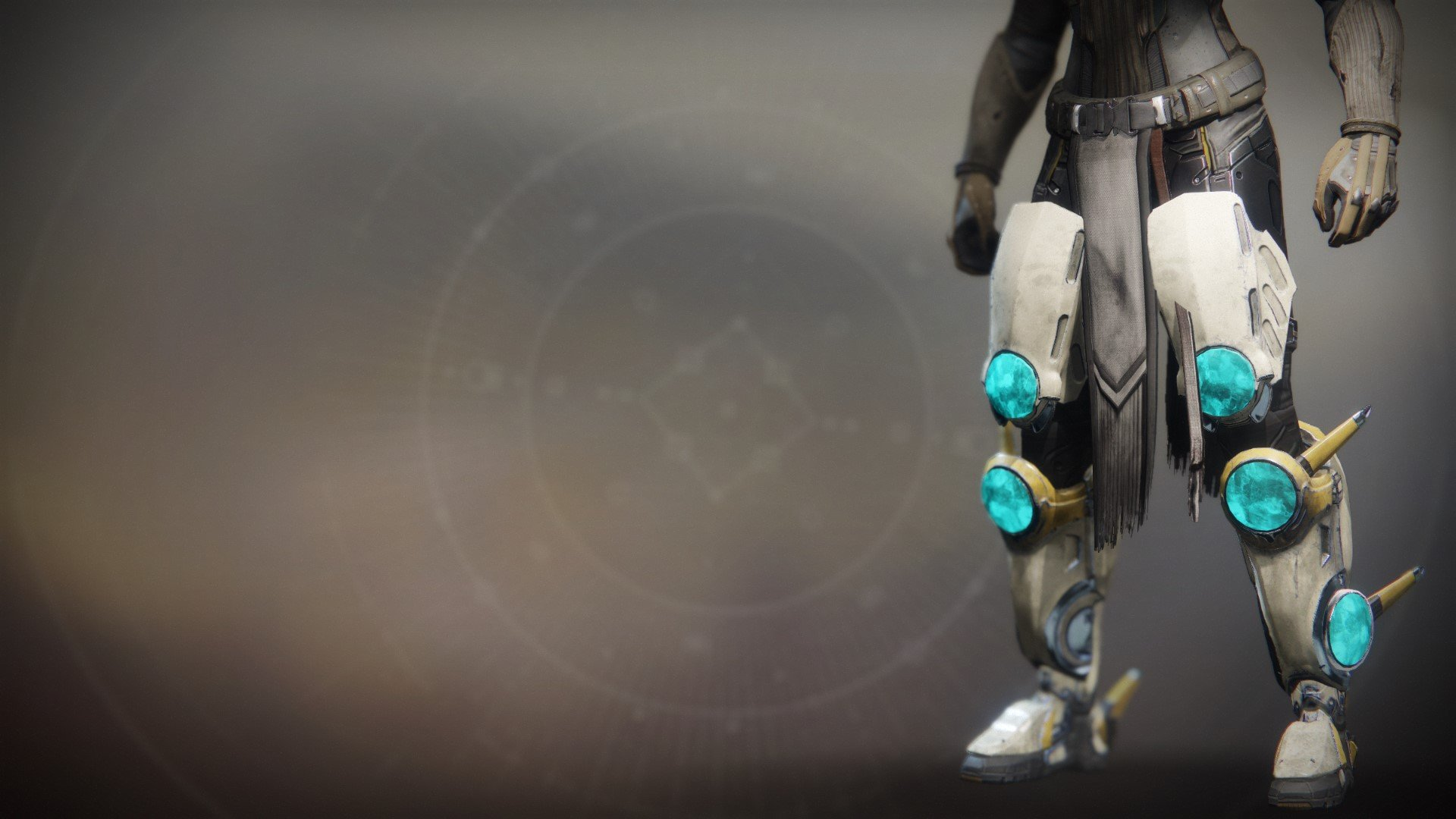 An in-game render of the Peregrine Greaves.