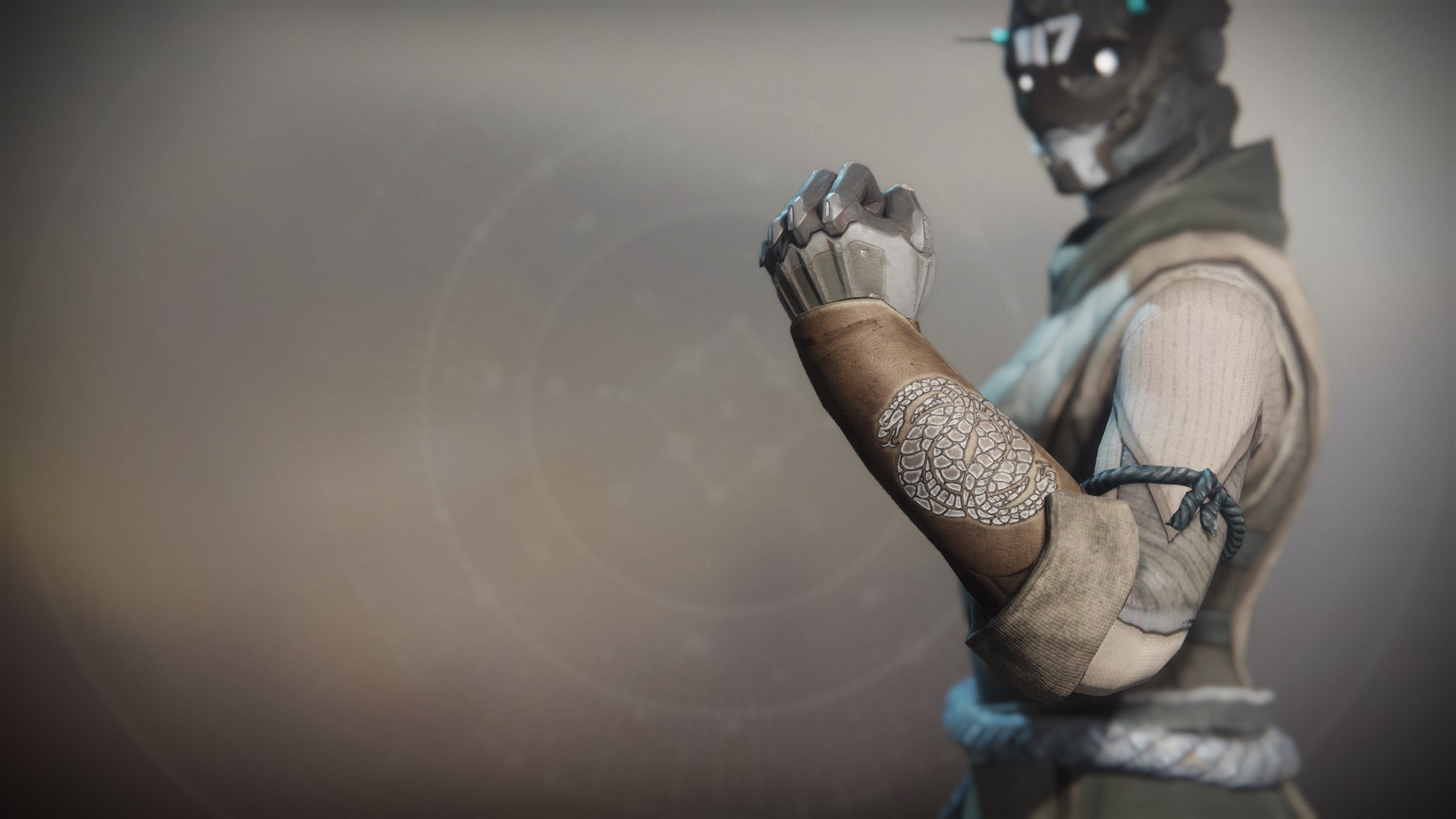 An in-game render of the Notorious Collector Gloves.