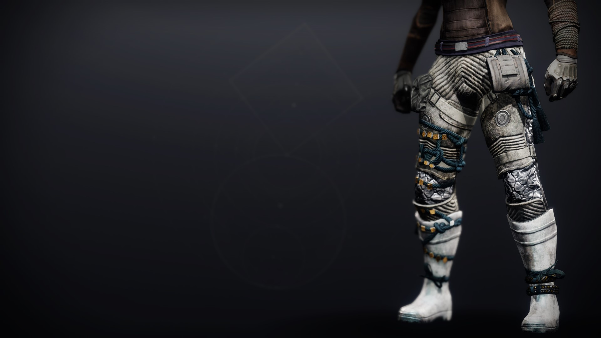 An in-game render of the Dreambane Strides.