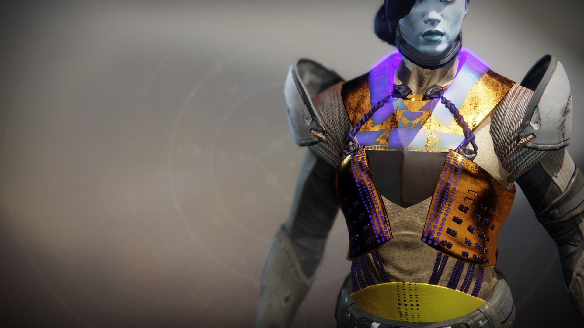 An in-game render of the Cuirass of the Emperor's Champion.