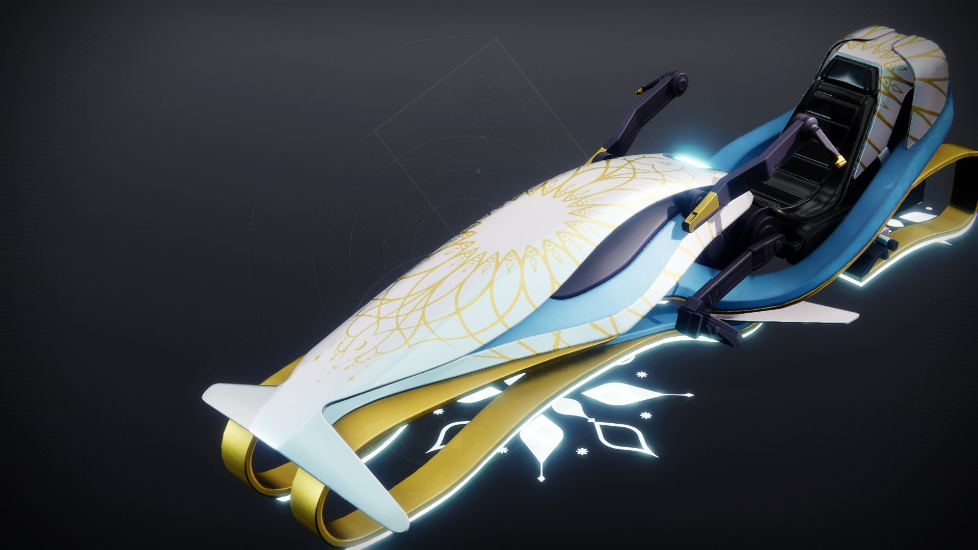 An in-game render of the Polar Prancer.